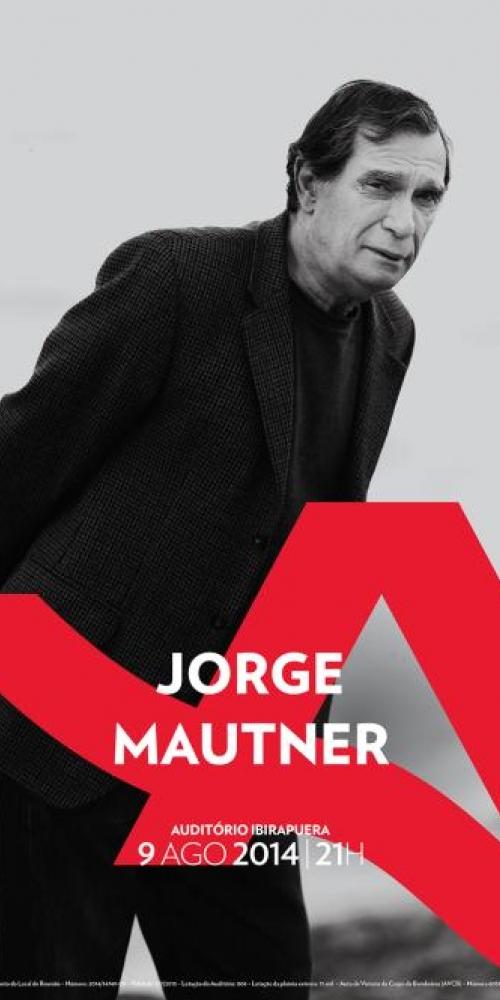 Jorge Mautner no Ibirapuera