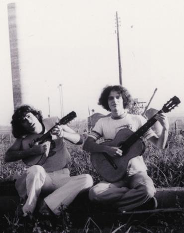 Jorge Mautner e Nelson Jacobina