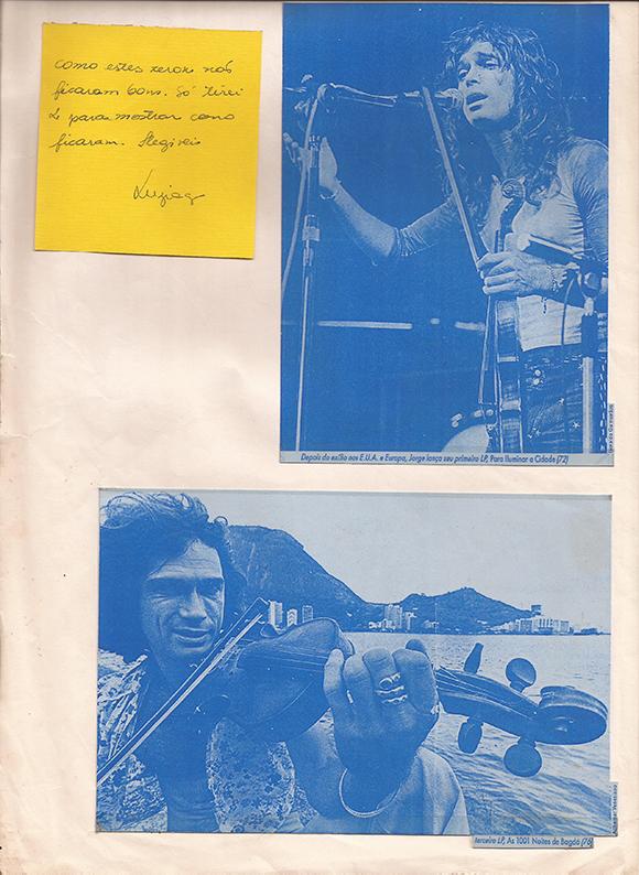 Jorge Mautner em cópia