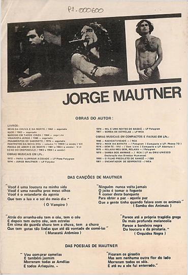 Mautner, um artista de todas as gerações