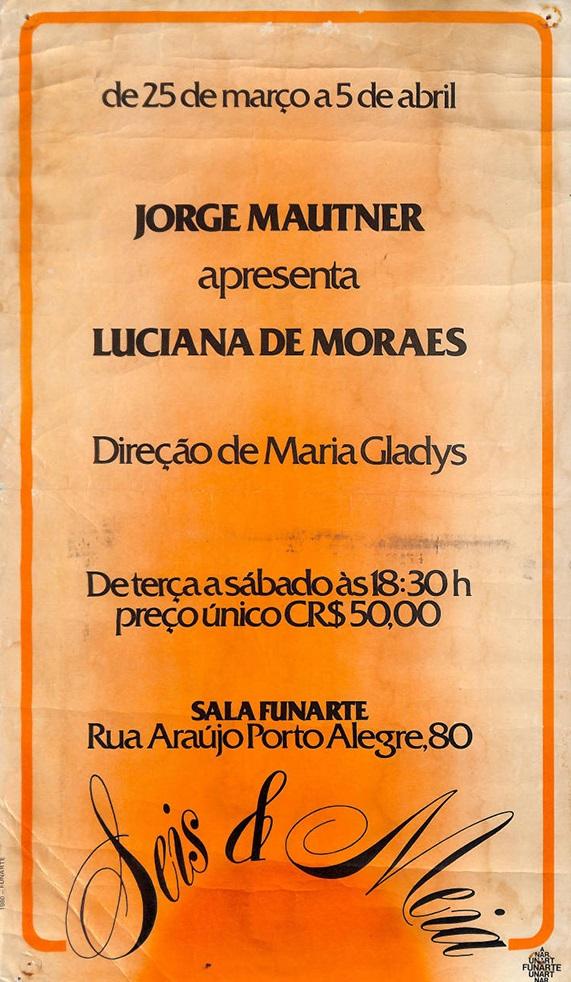 Jorge Mautner apresenta Luciana de Moraes