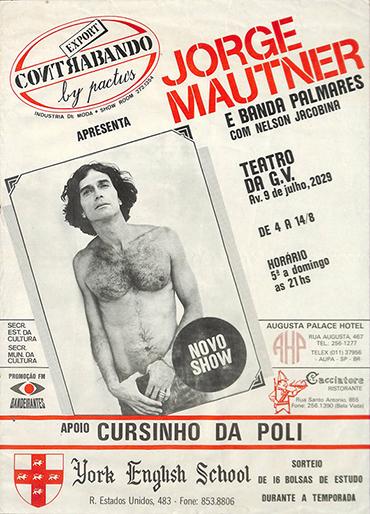 Jorge Mautner e Banda Palmares com Nelson Jacobina