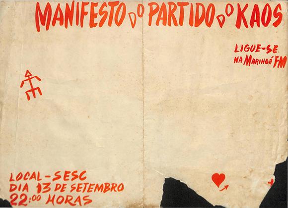 Manifesto do Partido do Kaos