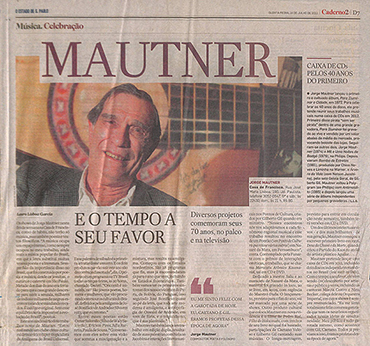 Mautner e o tempo ao seu favor