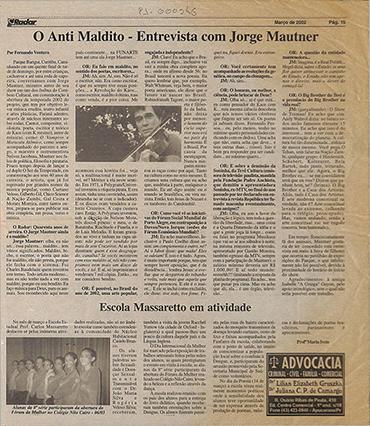 O Anti Maldito - Entrevista com Jorge Mautner