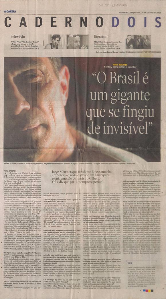 O Brasil é um gigante...