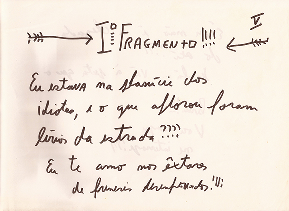 Iº Fragmento!!!