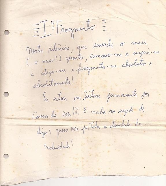 Iº Fragmento