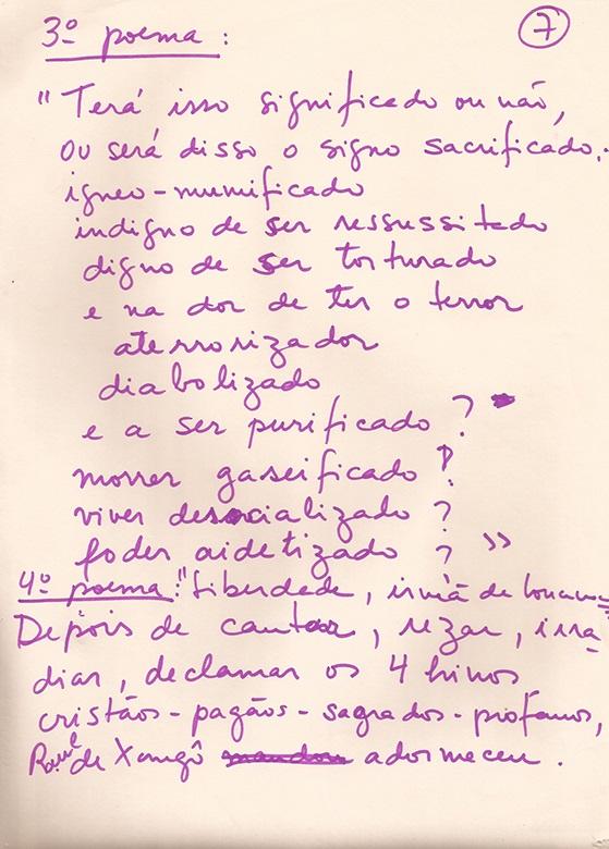 3º e 4º poemas