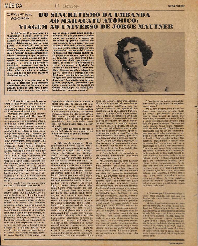 Panfletos da Nova Era