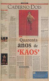 40 anos de Kaos