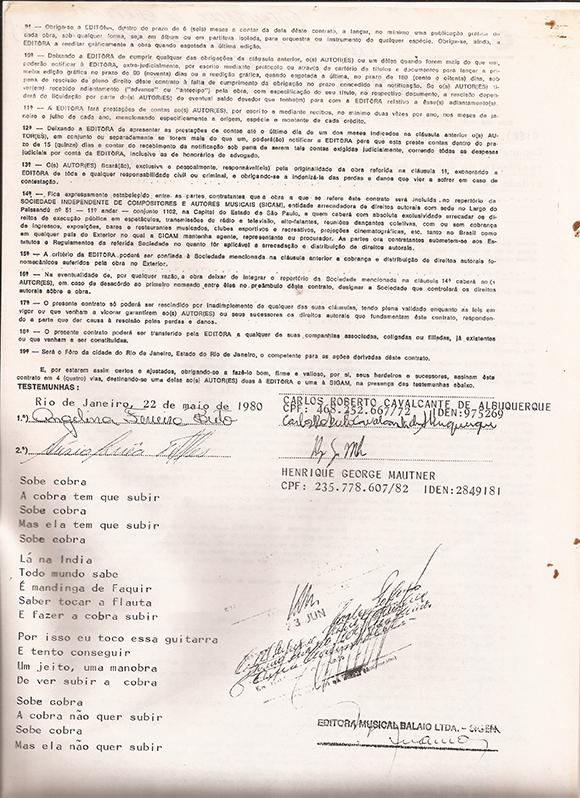 Contrato de edição e mandato