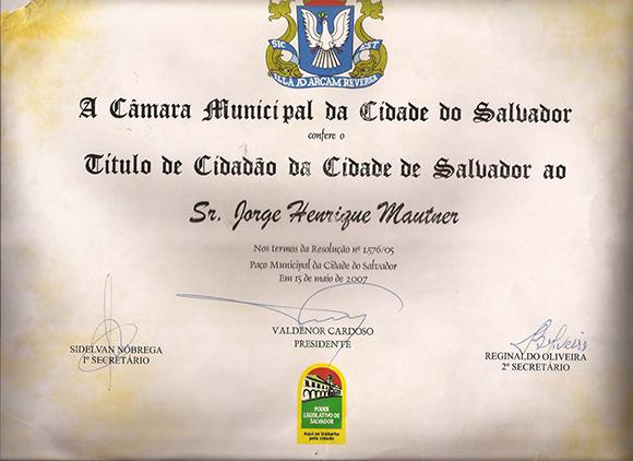 Cidadão da Cidade de Salvador