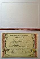 Diploma da Ordem do Mérito Cultural