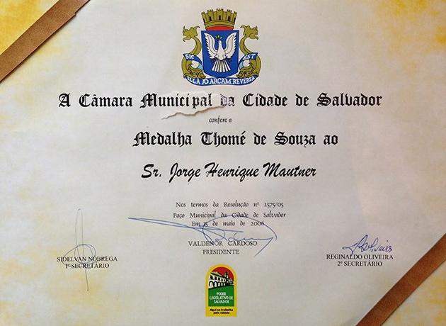 Medalha Thomé de Souza